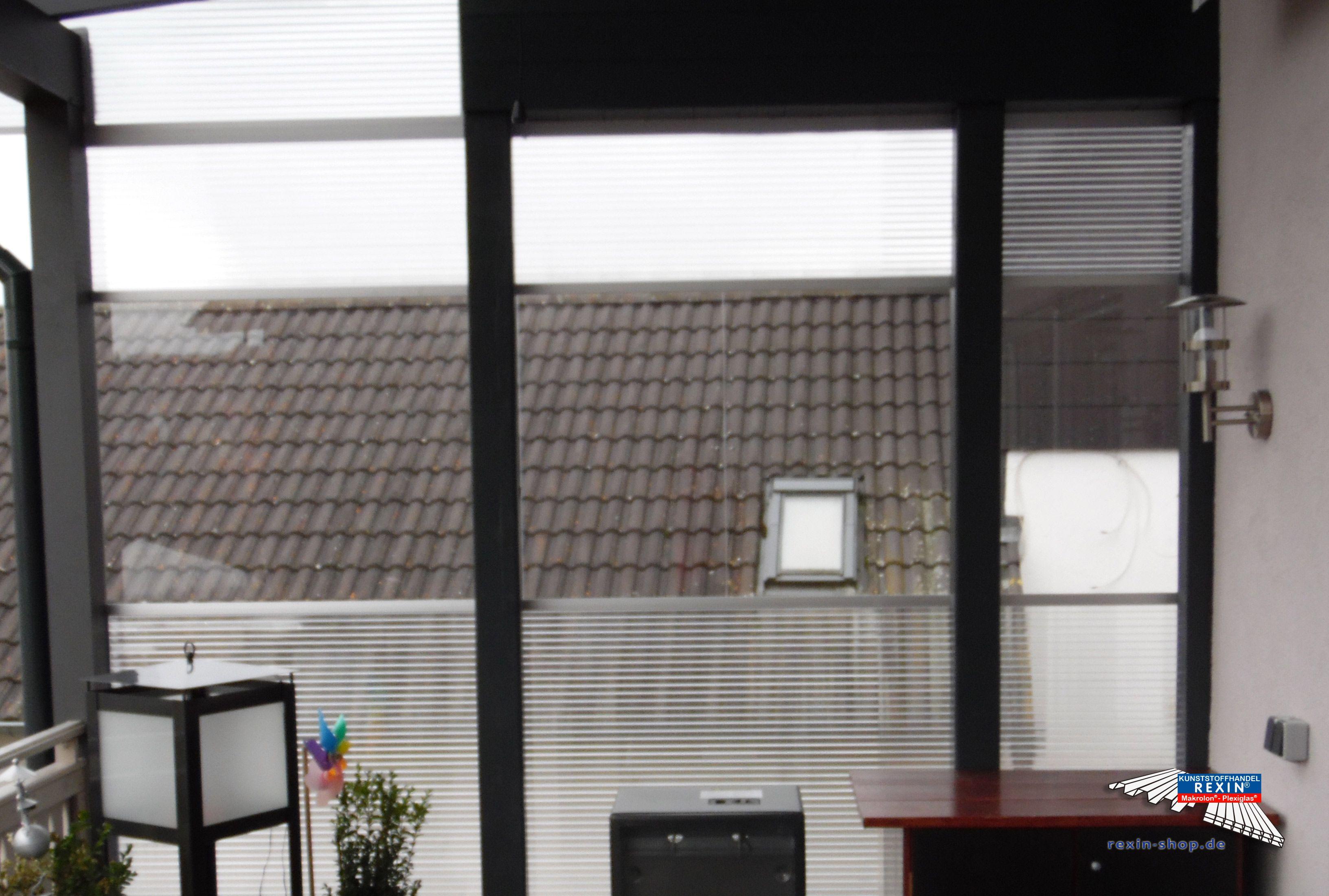 Ein AluTerrassendach der Marke REXOclassic 5,79m x 3,5m