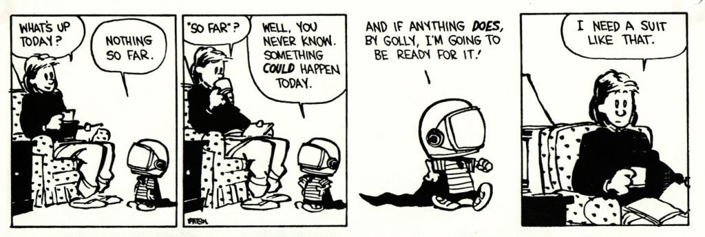 Image result for calvin and hobbes ready