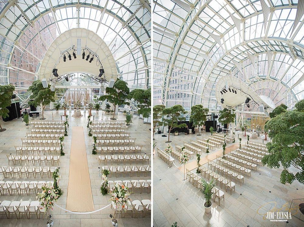 Indianapolis Artsgarden Wedding Jim Elysia Best Photographers In