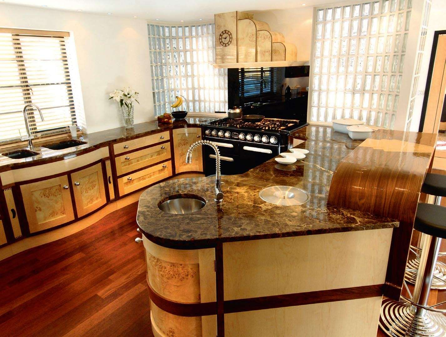 Arts & Crafts and Art Deco style kitchens | Period Living ...