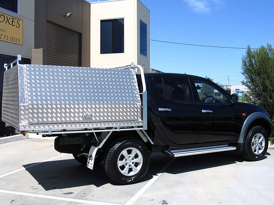 Aluminum Ute Canopies - Aussie tool boxes manufactures a great range of aluminum canopy bodies for & Aluminum Ute Canopies - Aussie tool boxes manufactures a great ...
