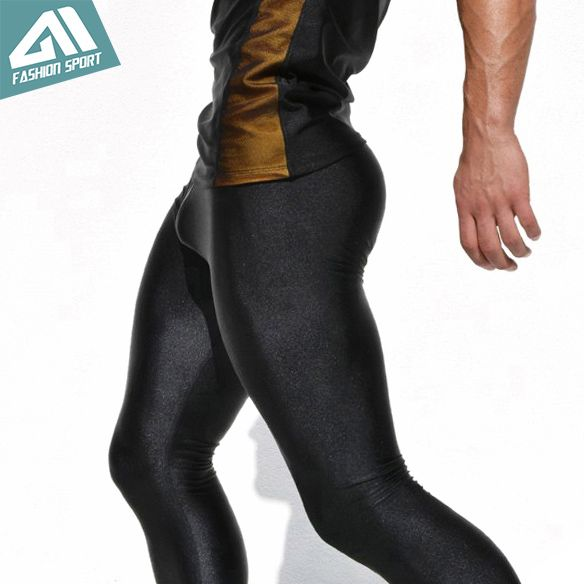 1e53b68910f37 Aimpact Sexy Fashion Skinny Men Sport Pants Athletic Slim Fitted Running Men s  Pants Gym Sexy Tight Causal Sweatpants