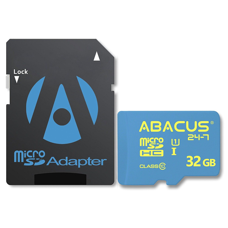 Abacus24 7 32GB Dash Cam Memory Card for Lecmal GS8000 Mobility Camera PowerLead Puda D003