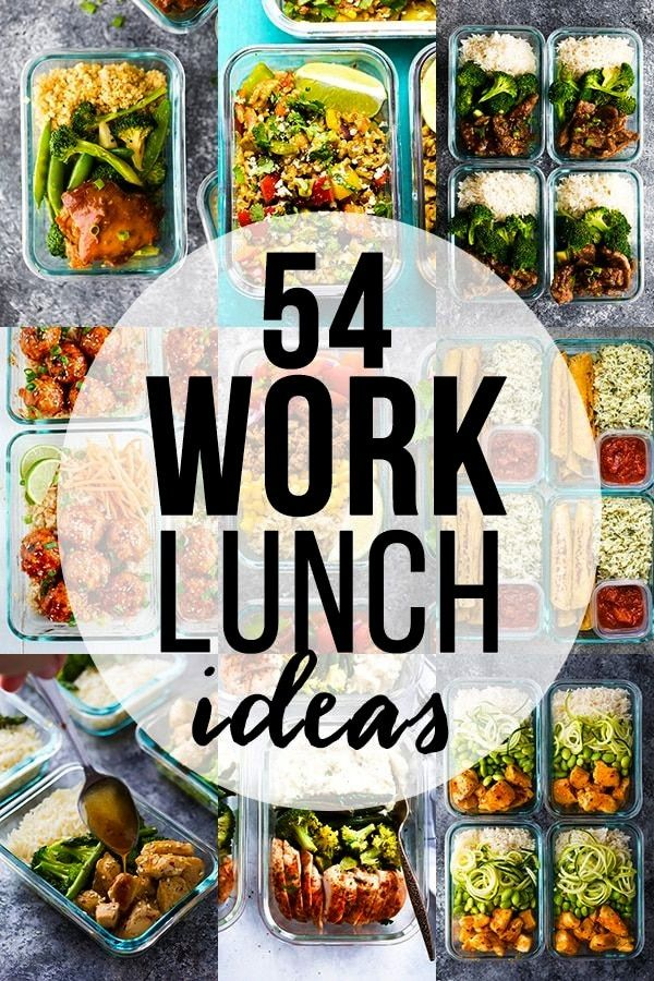 healthy lunch ideas for work- save yourself money and eat healthier by making your own lunch. Get a
