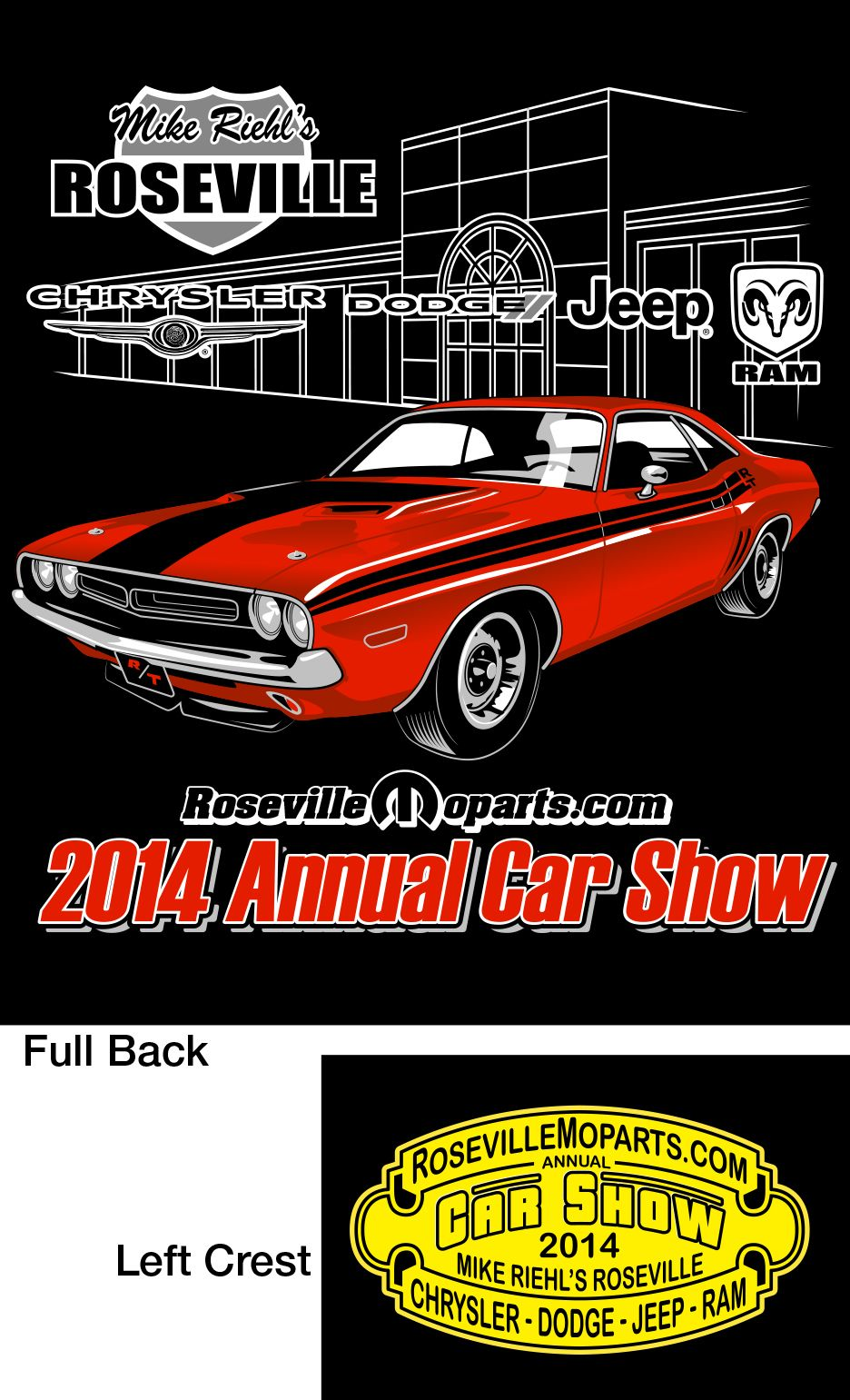 11th Annual All Mopar Car Show Preview See What Our T Shirts Look
