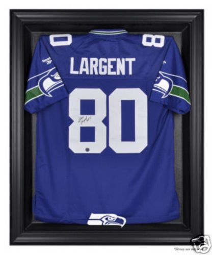 new style 87e93 4d15c Seattle Seahawks Black Framed NFL Jersey Display Case US ...