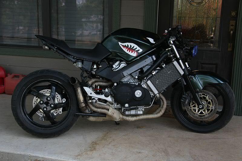 vfr 800 streetfighter vfr800 honda street motorcycle vtec 2005