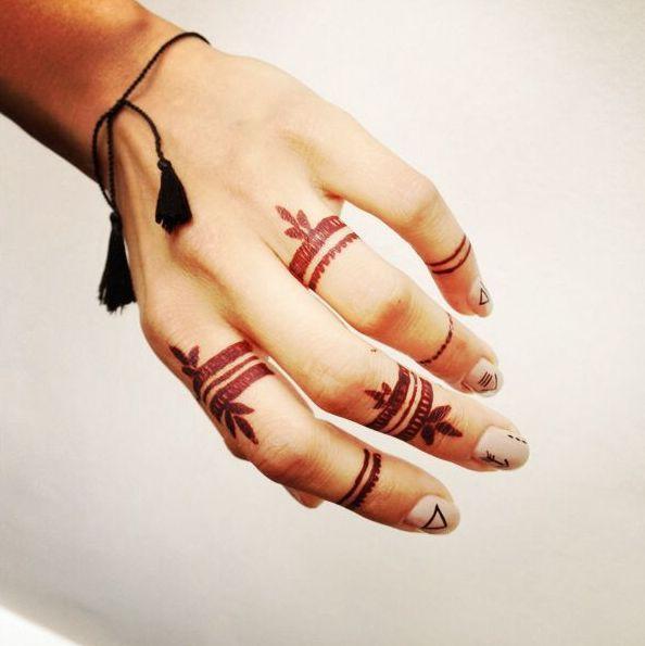 Best Simple Henna Mehndi Patterns Henna Designs Easy Henna Tattoo Designs Hand Henna