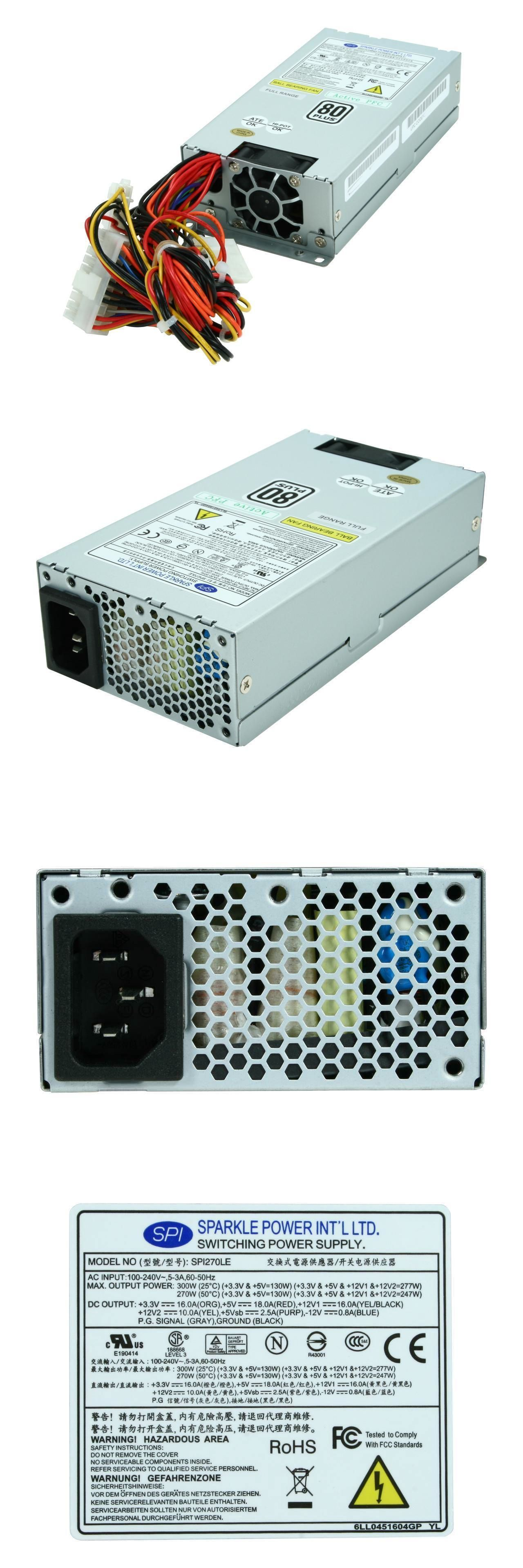 Server Power Supplies 56090 Sparkle Spi270le 80 270w Single Flex Atx Power Supply Buy It Now Only 26 08 On Ebay Server Power Power Atx Power Supply