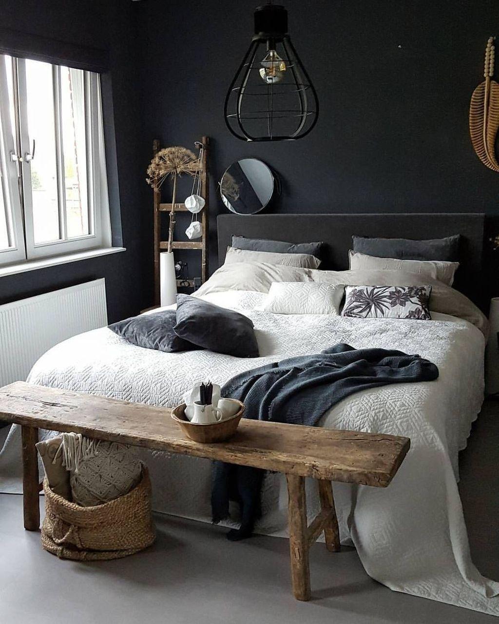 Nice 45 Romantic Rustic Bedroom Design Ideas. #   Men's ...