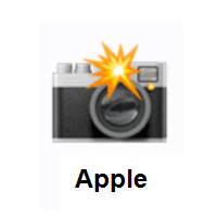 Camera With Flash Emoji Emoji Emoji Design Used Cameras