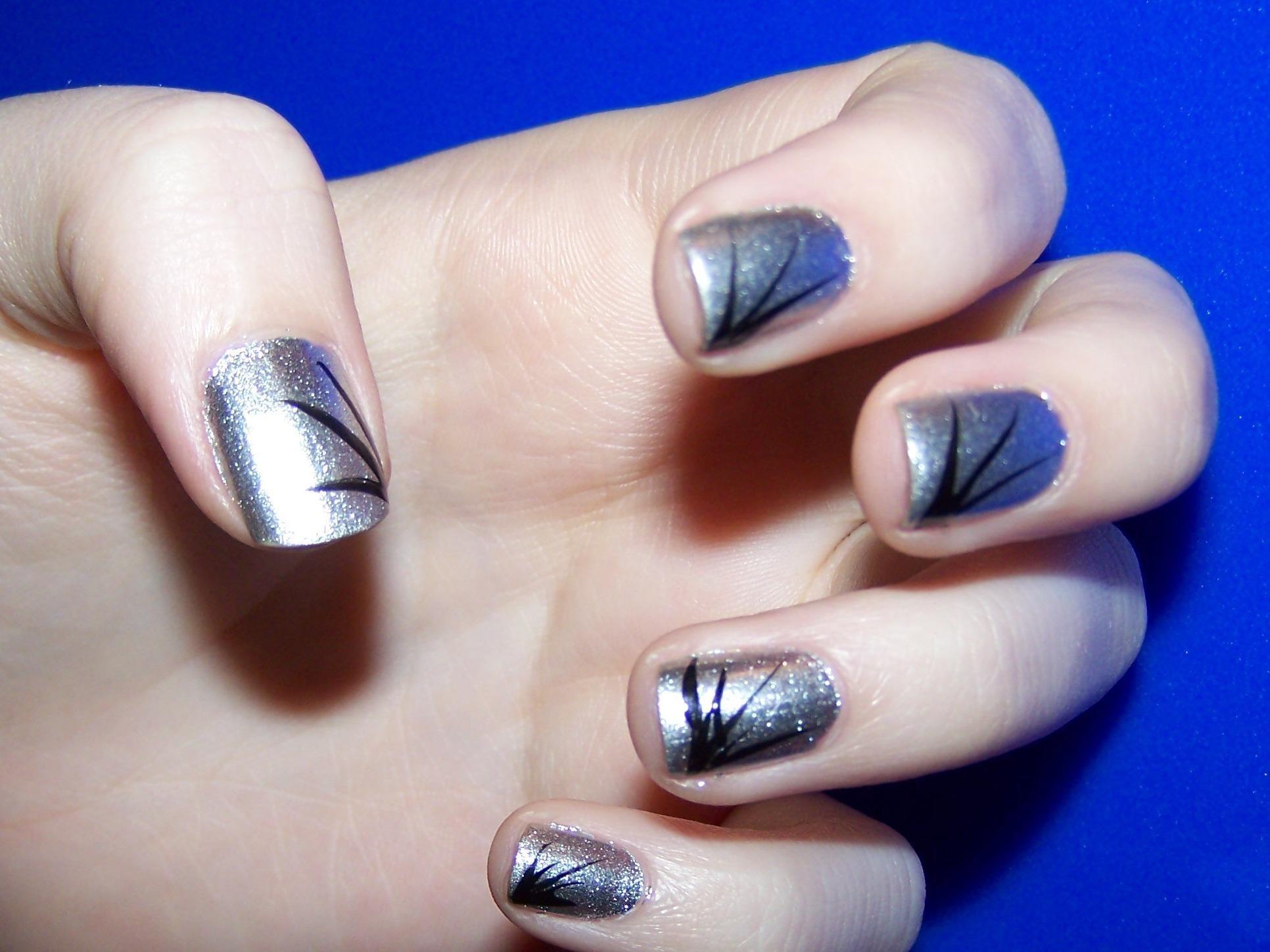 Easy Line Nail Designs ... | Nail Designs | Pinterest