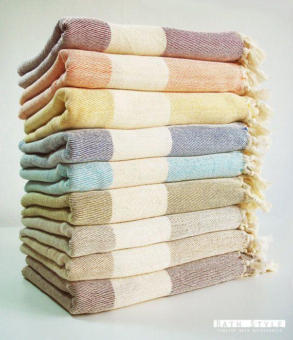 turkish bath towel peshtemal and peshkir set soft navy blue