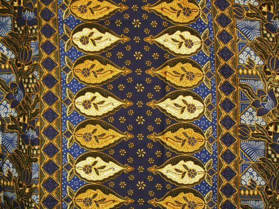 malaysian cotton batik sarong pareo by kimonoartuk on etsy