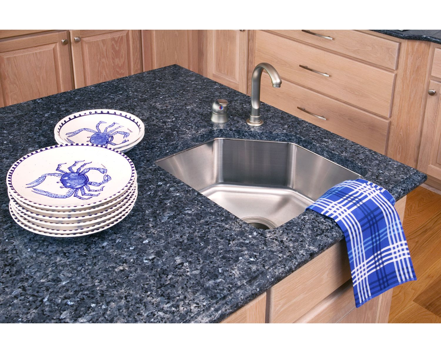 Granite Kitchen Countertops Backsplash Ideas And