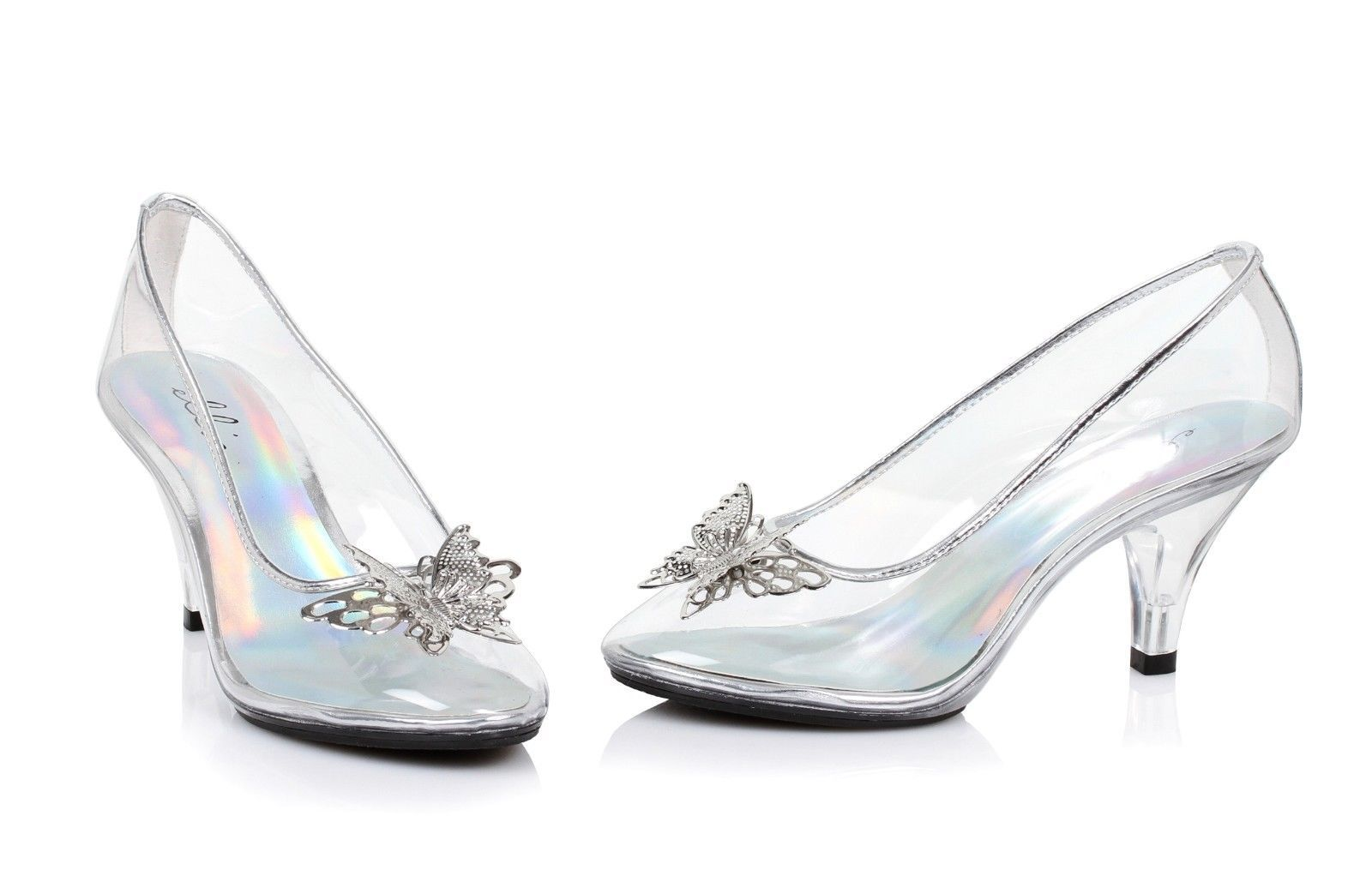 1cb4c624ed4 Clear Glass Slippers Cinderella Costume Shoes Wedding Princess ...