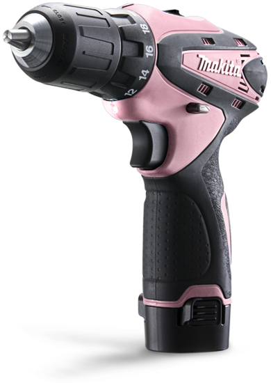 3f4ee6a3c52ad5 Makita Pink Drill - I would totally buy this if I didn't already have two  makita drills!!