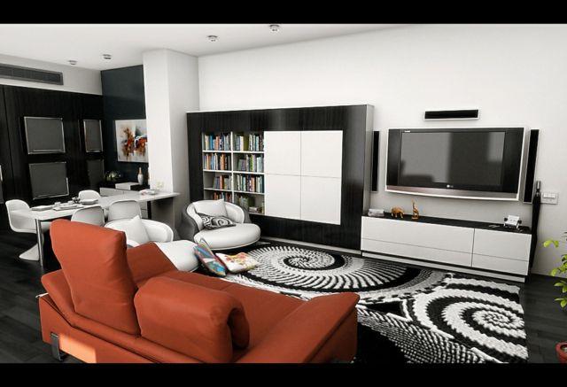images de salons décorés en gris - Recherche Google INSPIRATIONS