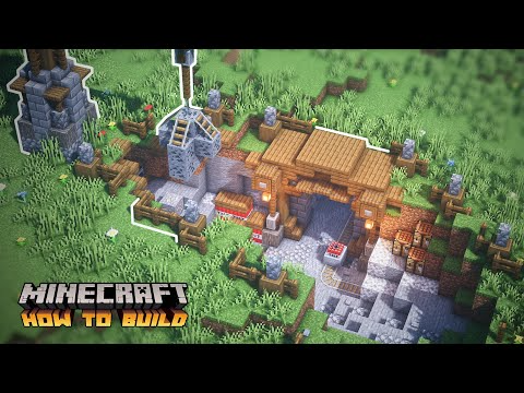 Minecraft: How to Build a Simple Mining Camp (Mine