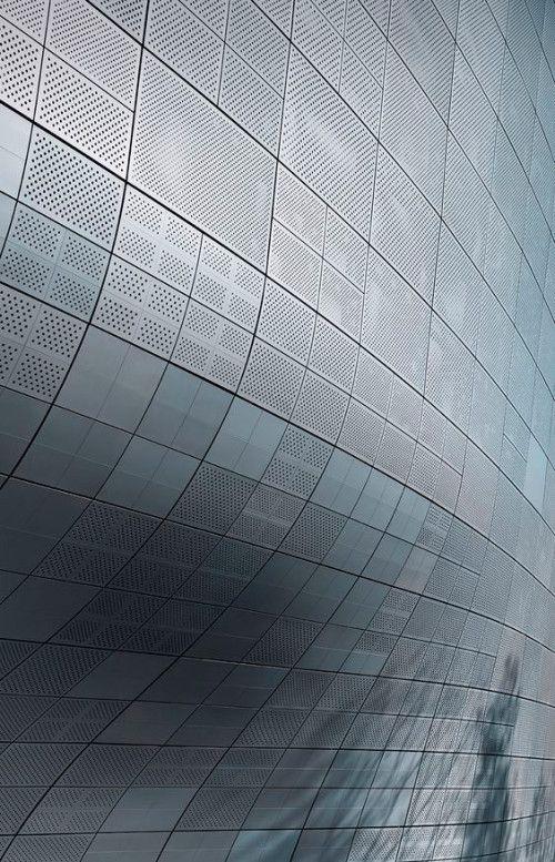 Futuristic surfaces architektur und hausfassade - Beruhmte architektur ...