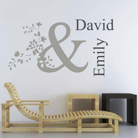 Personalized Wall Decal Trendy Wall Designs Personalized Wall Decals Wall Design Wall Decals