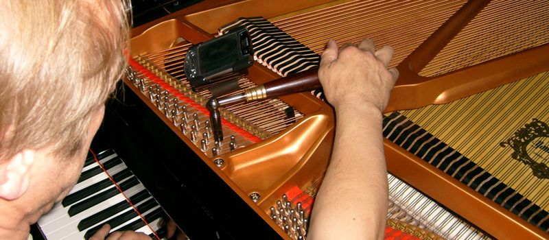If you have a piano at home that's sounding out of tune