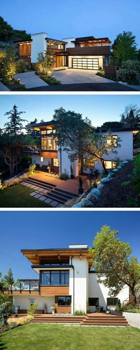Casa minimalista casas contempor neas y m s pines for Casa minimalista harborview hills