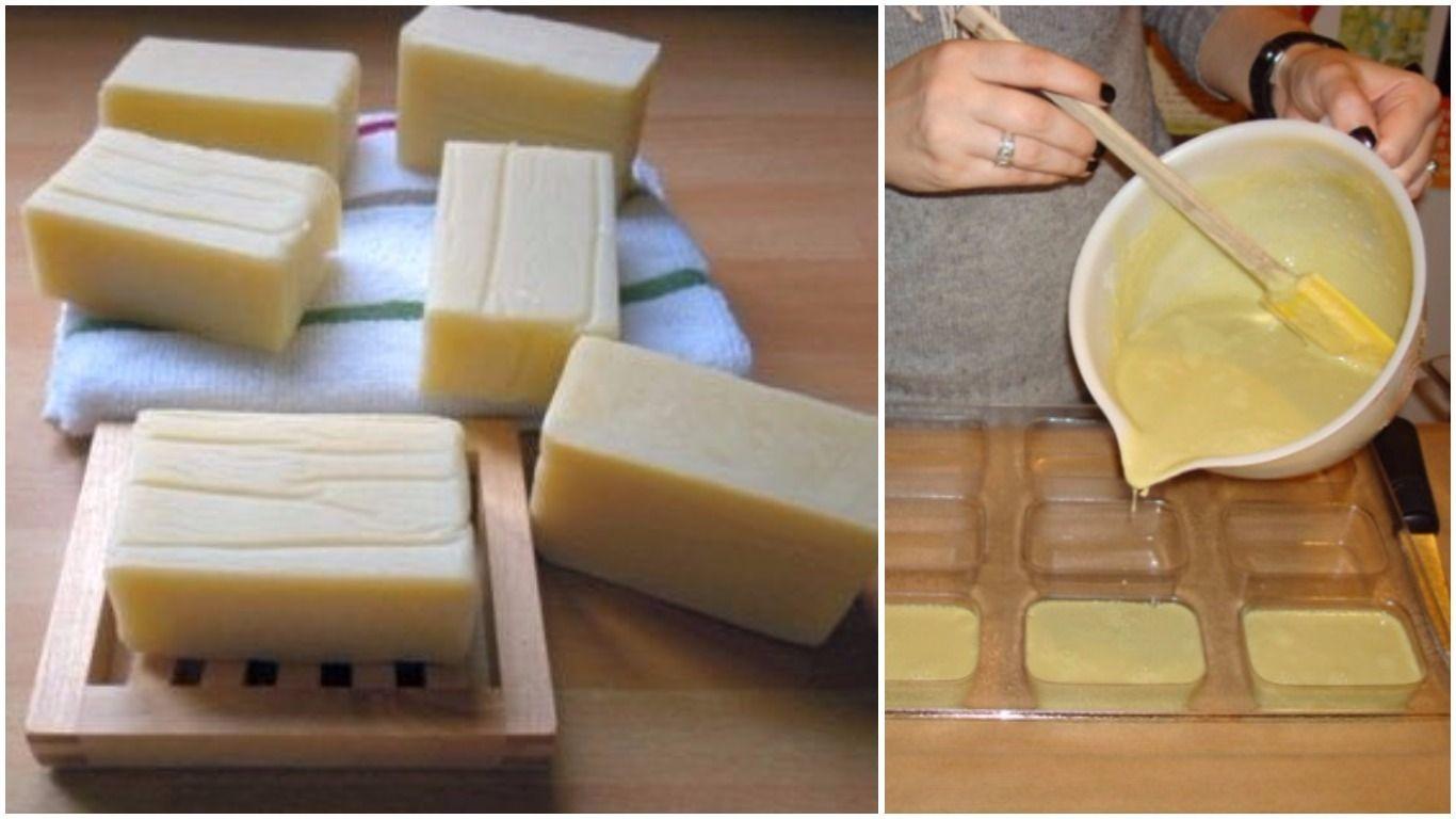 come fare il sapone fatto in casa, delicato e dall'efficace potere