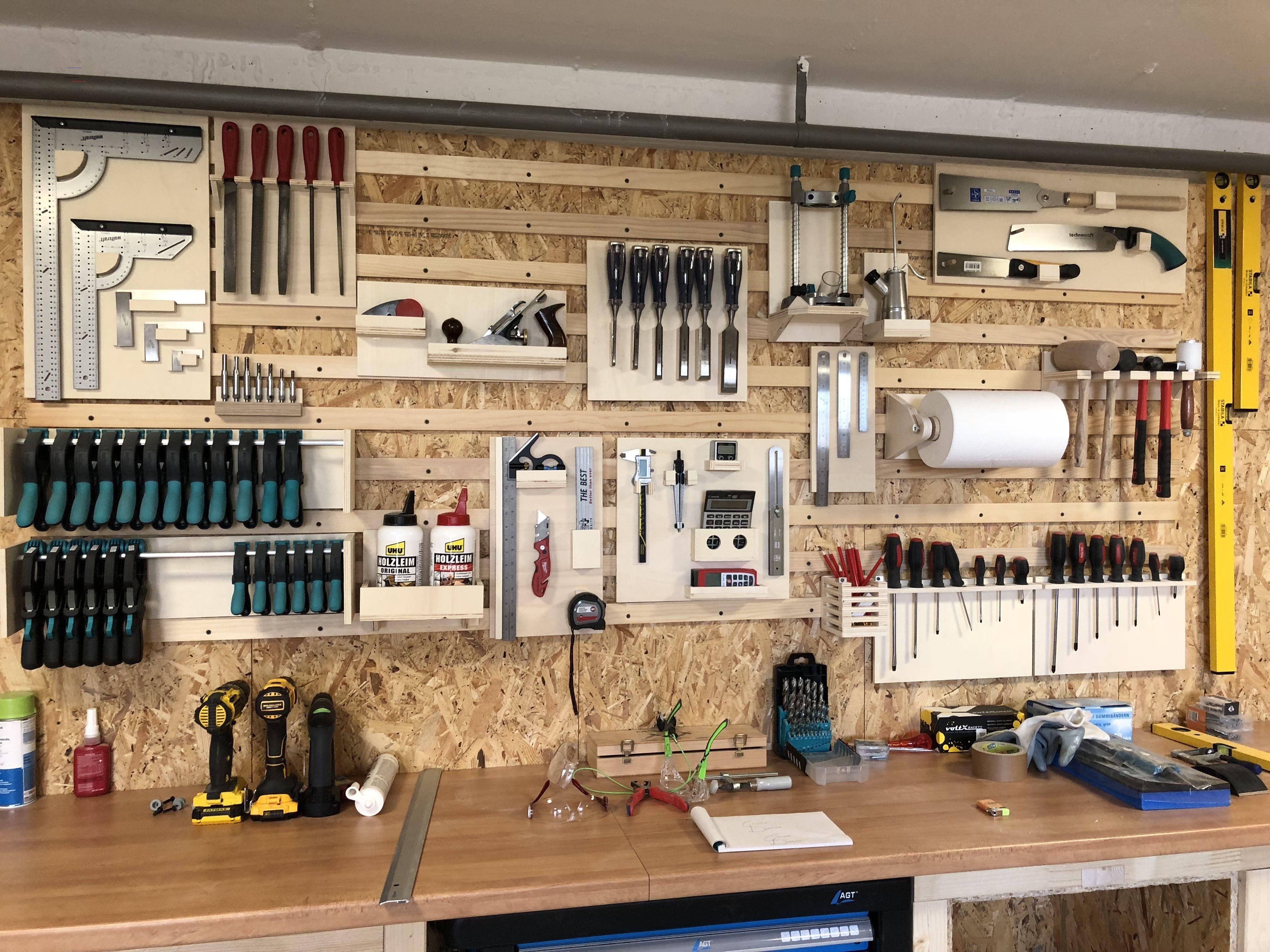 Werkstattordnung Idee Deco Garage Rangement Outils Rangement Outil Atelier