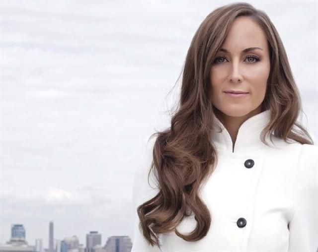 Humanitarian Amanda Lindhout, founder and executive director of the Global Enrichment Foundation....very inspiring.