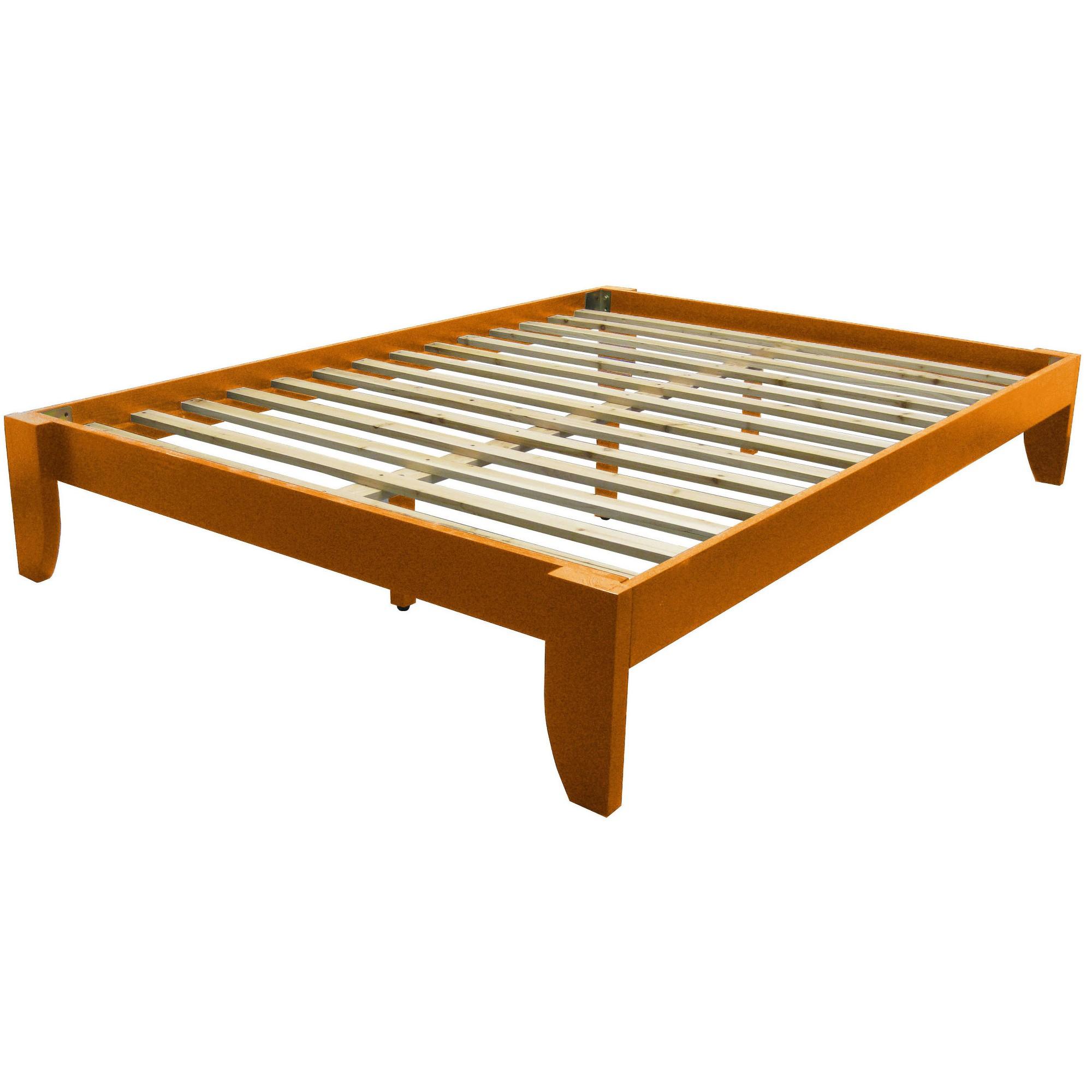 Gibraltar Solid Bamboo Wood Platform Bed Frame Epic
