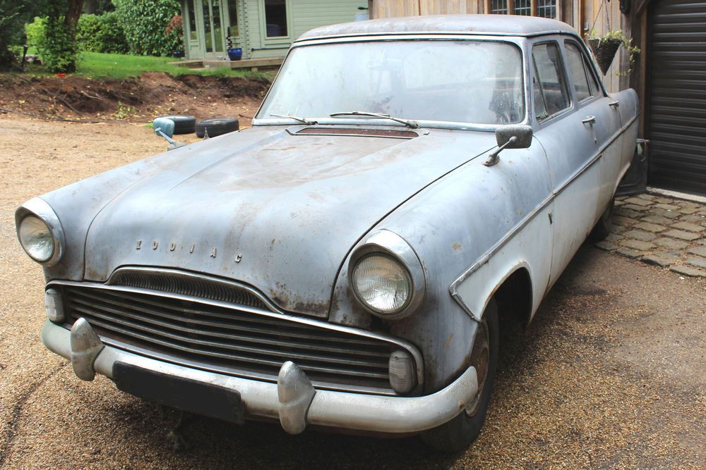Ford Zodiac Mk2 2600cc With Overdrive For Total Restoration