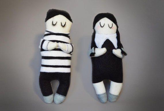 The Addams Family Pugsley Addams Gothic doll