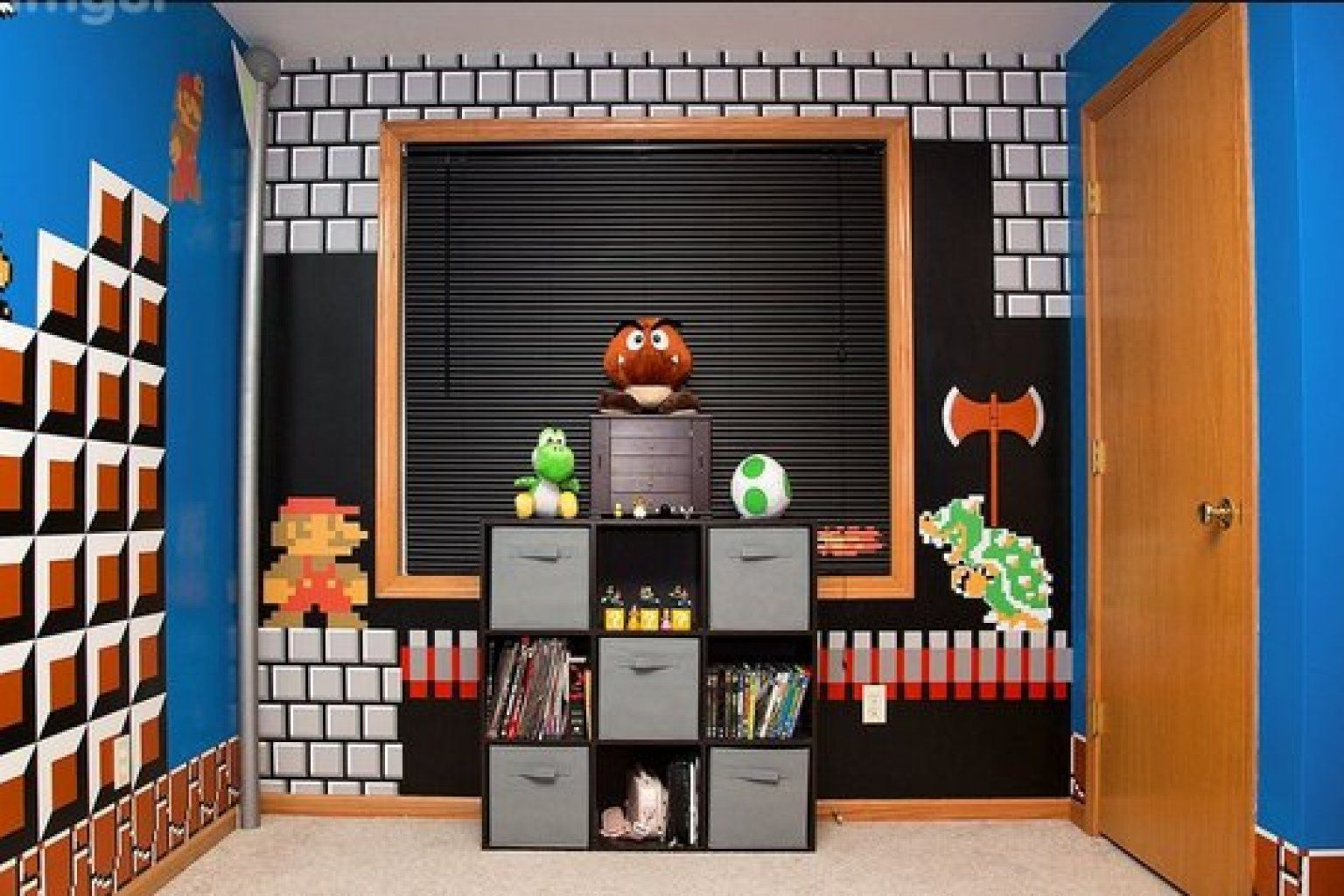 Bedroom Design Games Photos 'super Mario Bros' Bedroom Will Make Any '80S Kid Jealous