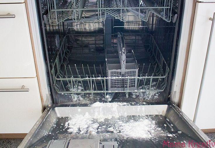Reinigen Sie Die Spulmaschine Haushaltstipps Pflaster Die