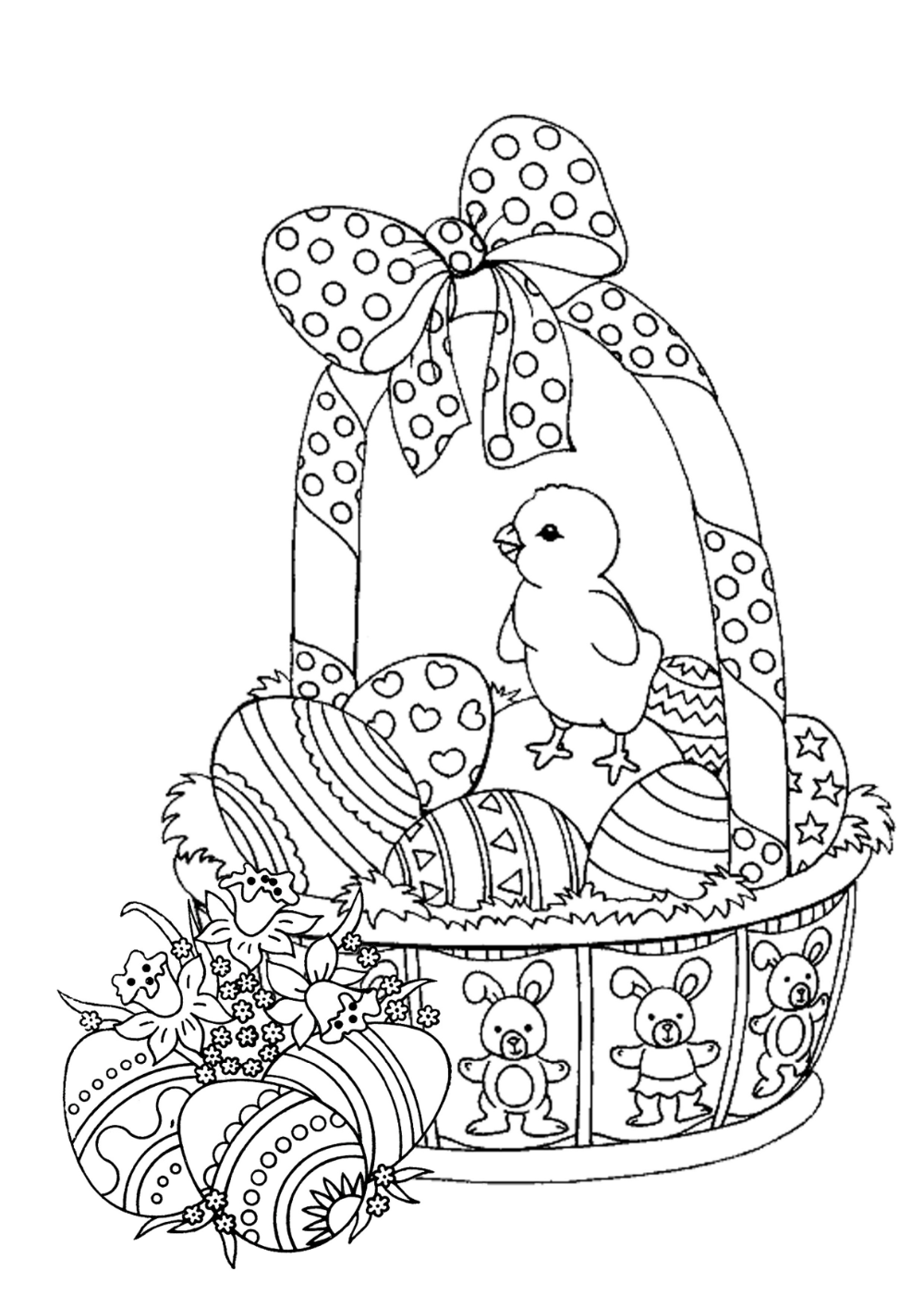 Easter Coloring Pages (With images) | Owl coloring pages ...