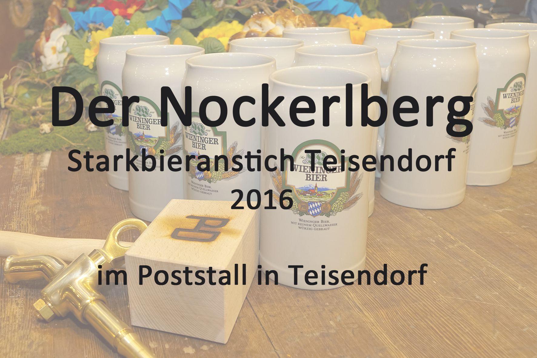 Starkbieranstich 2016 in Teisendorf im Poststall https://www.youtube.com/watch?v=6aKKB3-gP1Q