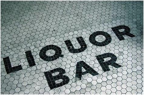Liquor Bar, NYC.