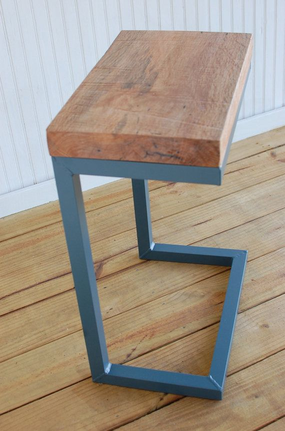 Find this Pin and more on Wood projects. Modern C Table Reclaimed ... - Modern C Accent Table - Free Shipping We Gave These Popular C