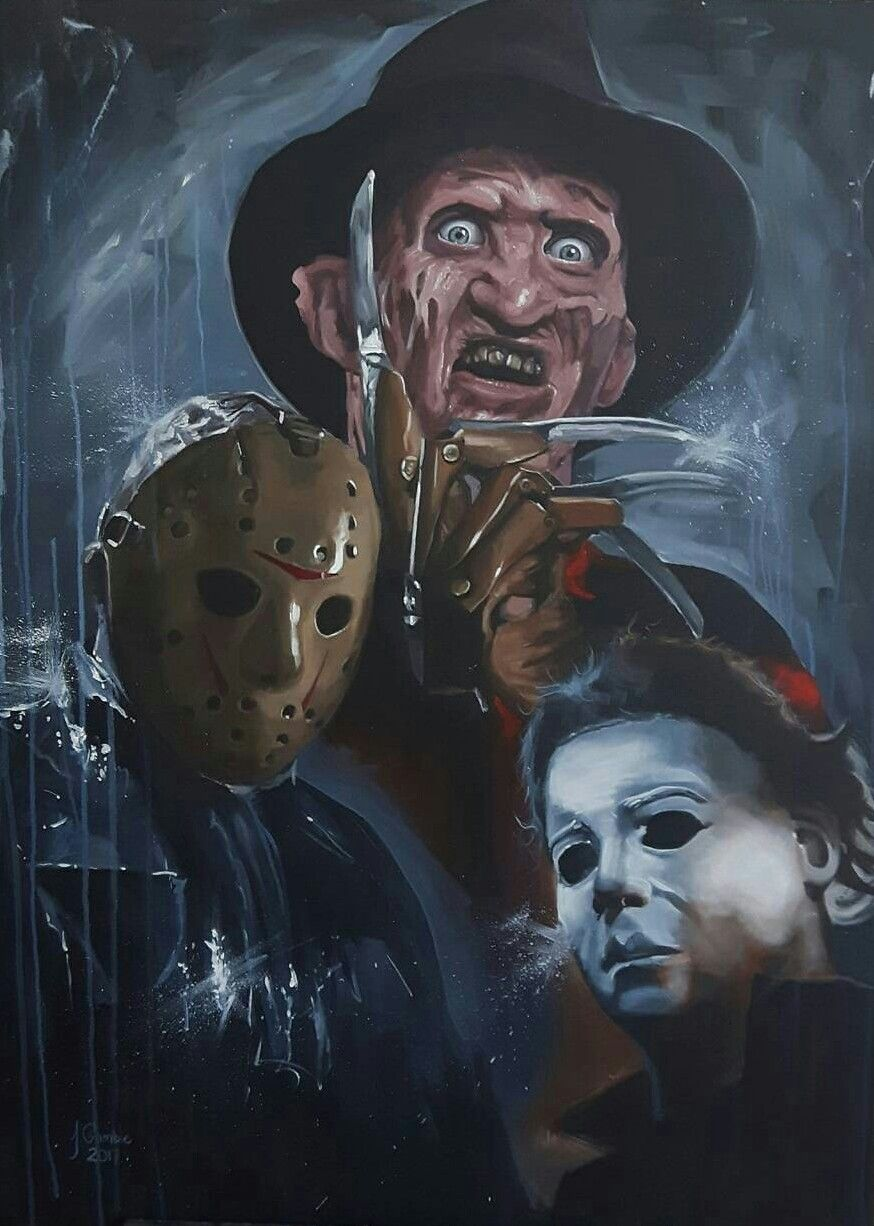 Freddy, Jason & Michael