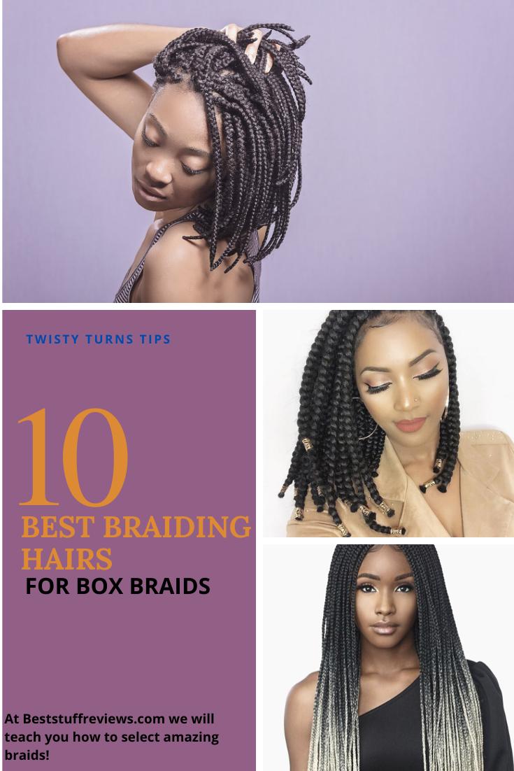 Pin On Top 10 Best Braiding Hair For Box Braids