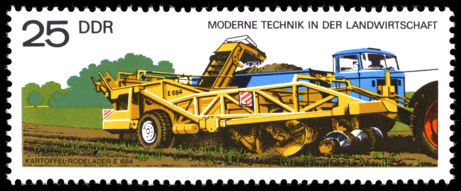 BriefmarkenJahrgang 1977 der Deutschen Post der DDR