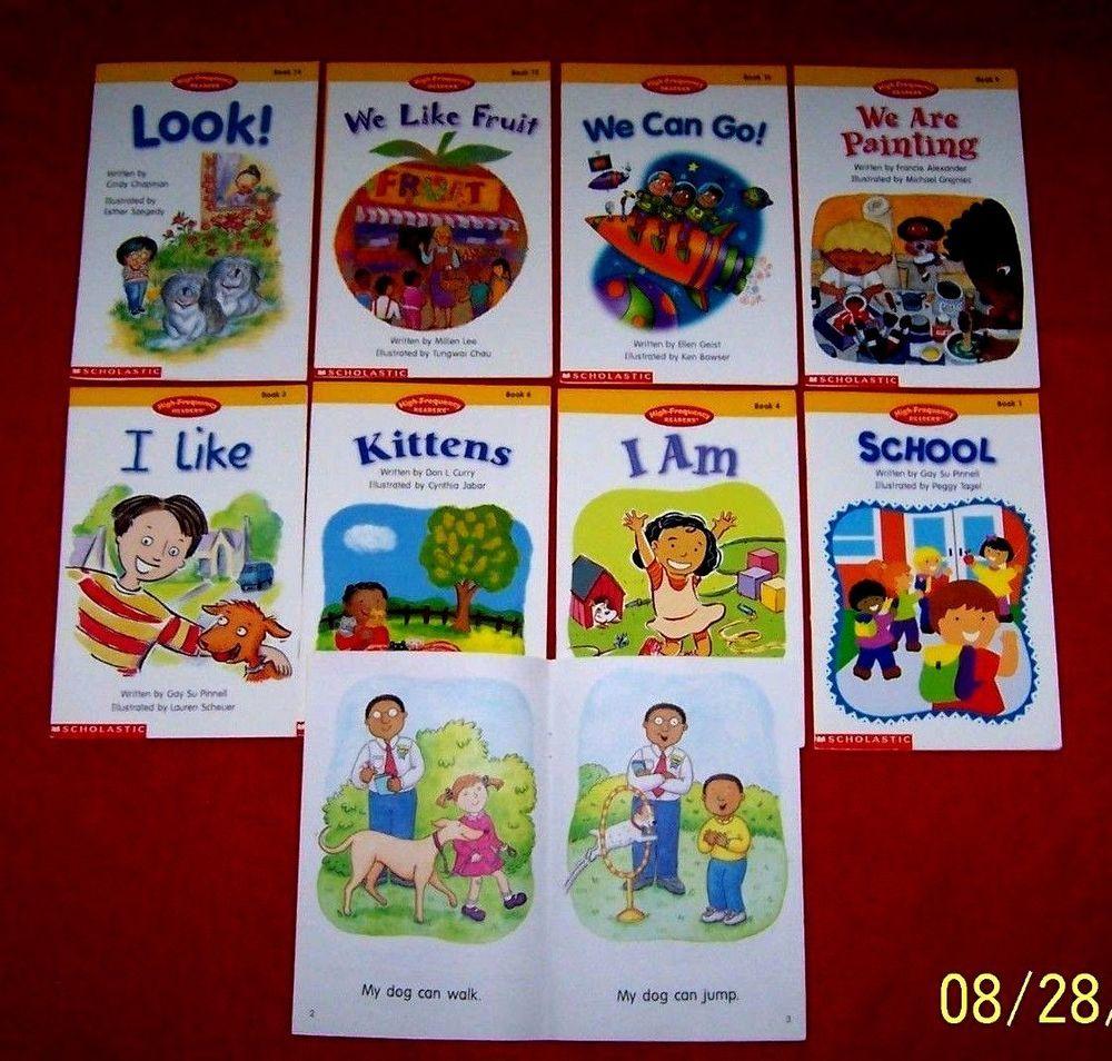 9 Emergent Beginning High Frequency Readers Scholastic Kindergarten Books Kindergarten Books Classroom Library Reading Strategies