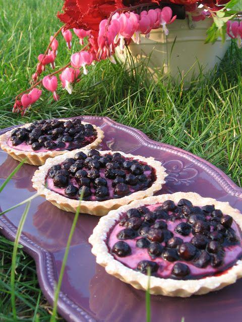 I Lost In Austen Wild Blueberry Tart Tartelette Sablee Aux Myrtilles Sauvages