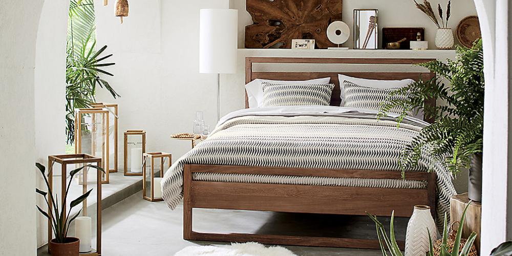 Modern Black Walnut Bedroom (With images) | Bedroom ...