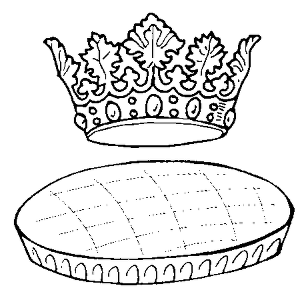 La Galette Des Rois Du Dessin Est Beige Sur Le Dessus Et Ocre Sur