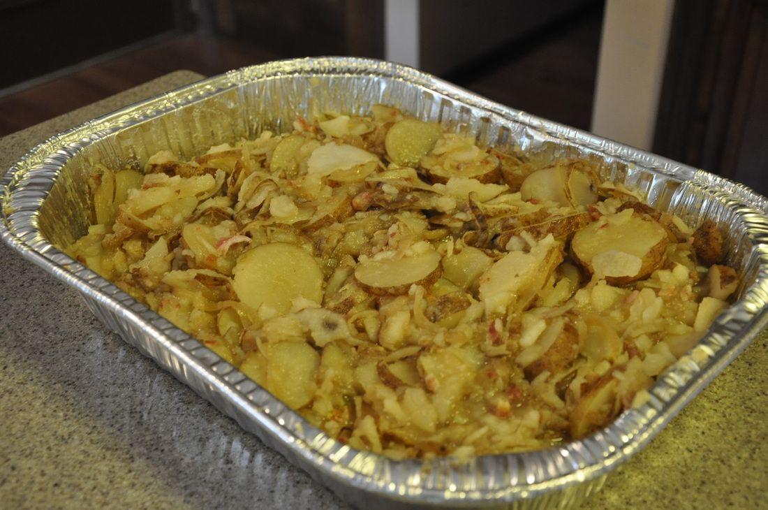 Grandma's German Potato salad.   www.mollynkate.com