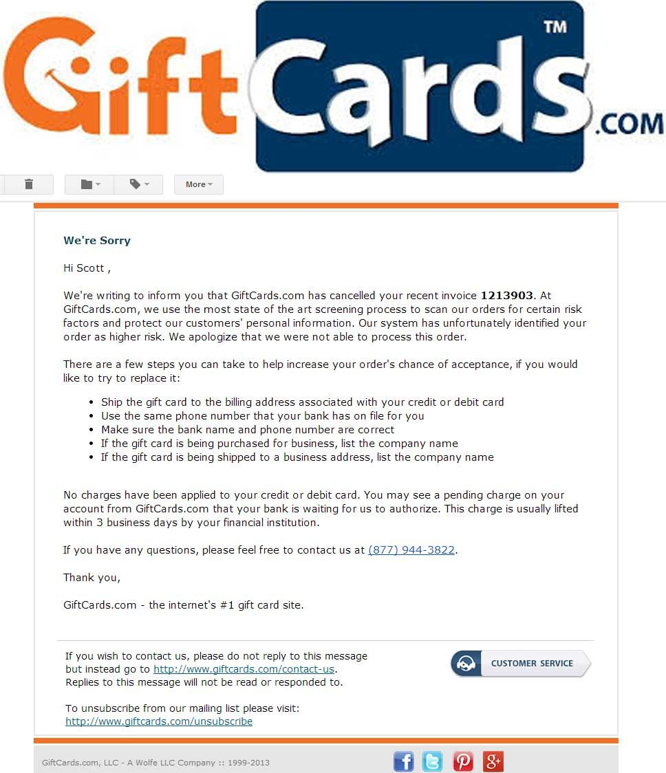 BAD_EXPERIENCE - After ordering 1 custom credit card, the next ...