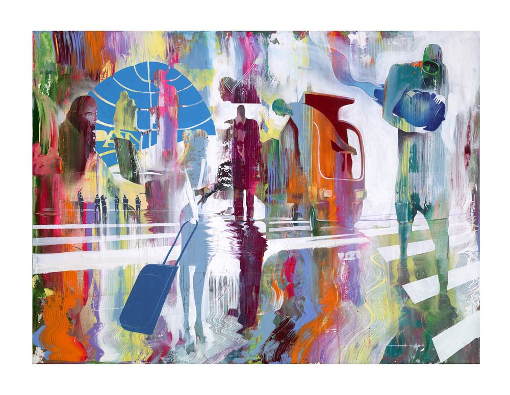 Looking Sideways — Will Barras - Pan Am (Print) (With ...