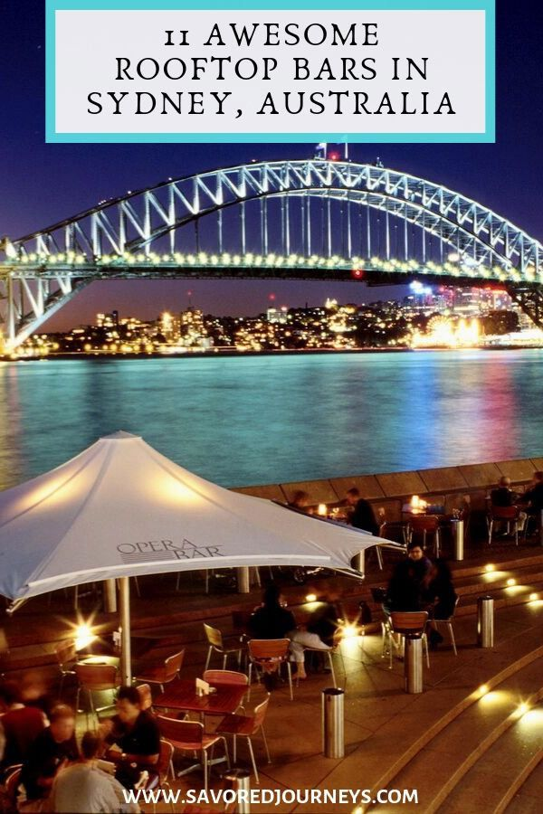 11 Rooftop Bars in Sydney with A Spectacular View ...